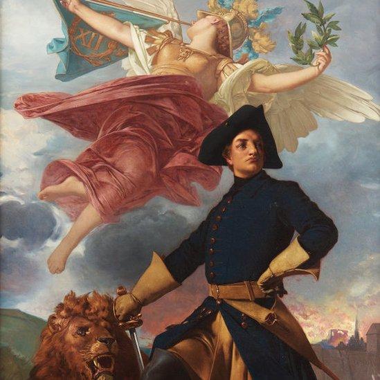 Apoteosis de Carlos XII de Suecia
