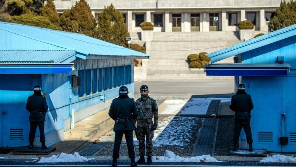 Korea Utara, Korea Selatan