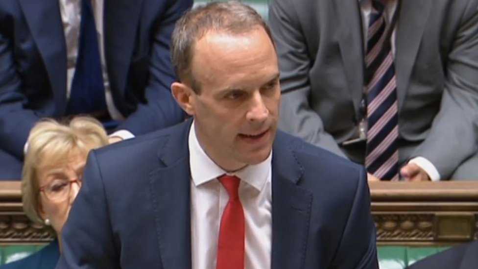 Cabinet still being persuaded over Brexit - Dominic Raab
