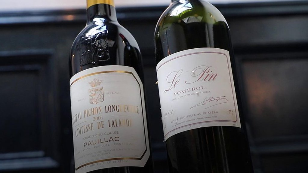 'I hope you enjoyed it' - £4.5k wine gaffe