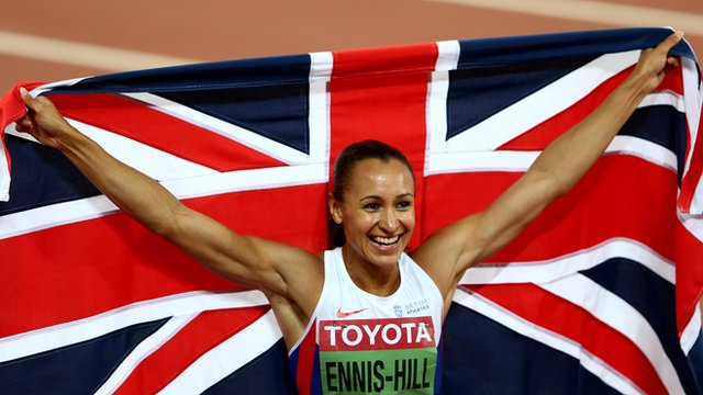 Great Britain's Jessica Ennis-Hill