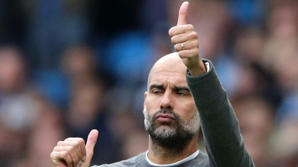 Manchester City 5-0 Burnley: Pep Guardiola joy at 'beautiful, beautiful goals'