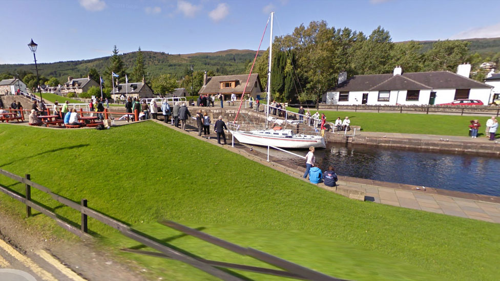 Repairs to the Caledonian and Union canals