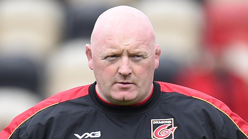 Bernard Jackman: Dragons boss 'not really concerned' over his own future