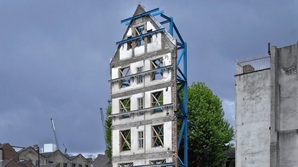 Как в Лондоне сохраняют исторические фасады зданий. Фотографии