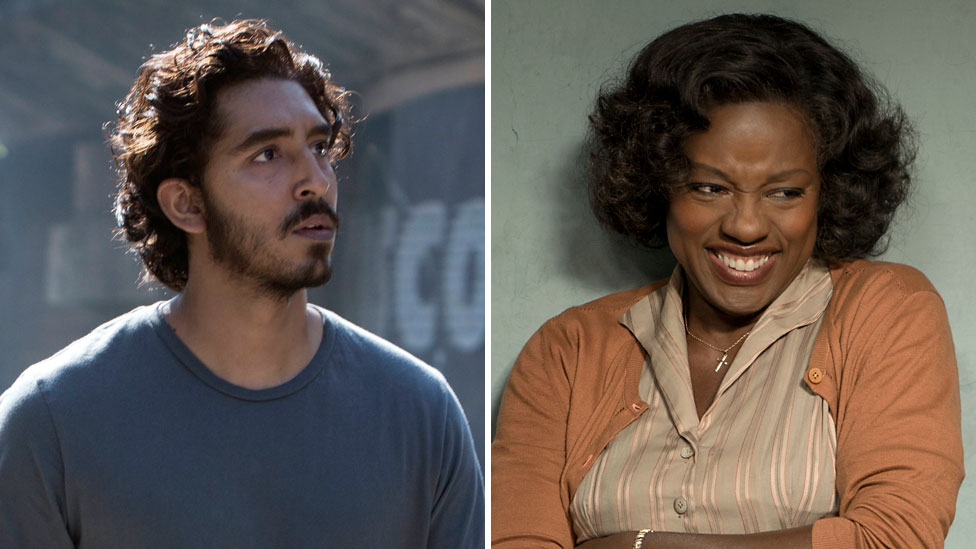 Dev Patel and Viola Davis are among this year's acting nominees at the Oscars