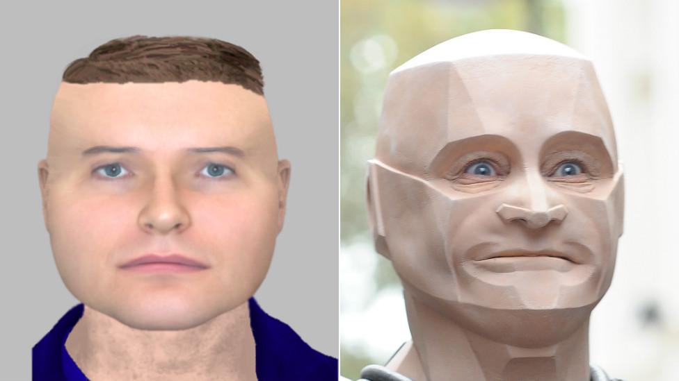Northamptonshire Police e-fit 'looks like Red Dwarf's Kryten'