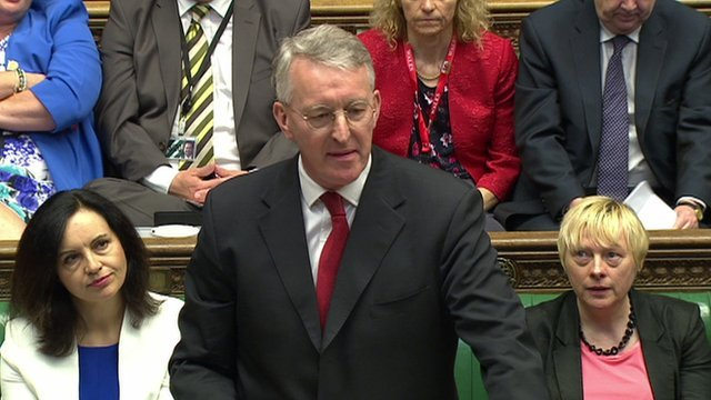 Hilary Benn at PMQs