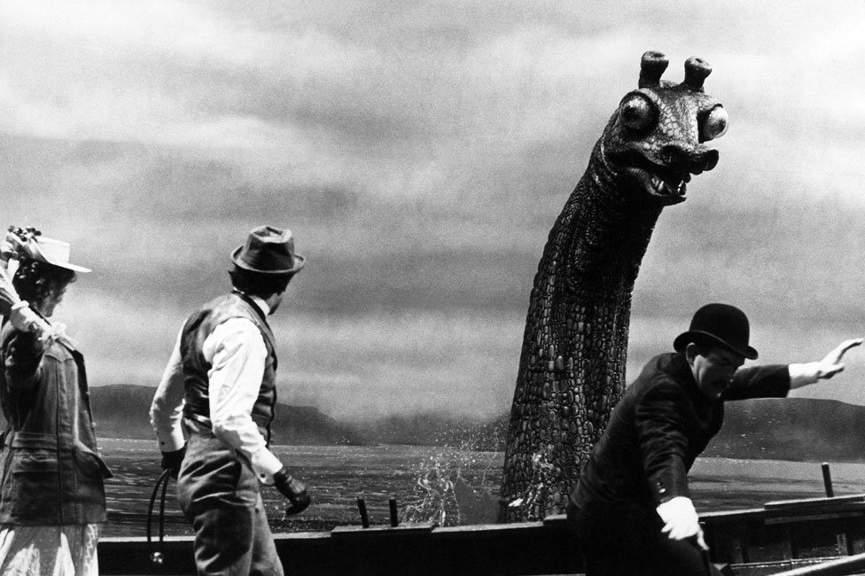 Nessie prop in The Private Life of Sherlock Holmes