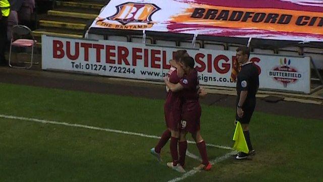 Bradford (Liddle 90') 3-0 Chesham United