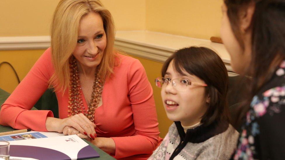 JK Rowling in Moldova
