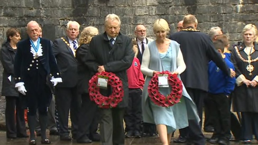 Assembly members Lord Dafydd Elis-Thomas and Sian Gwenllian