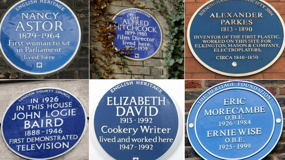The stars denied blue plaques