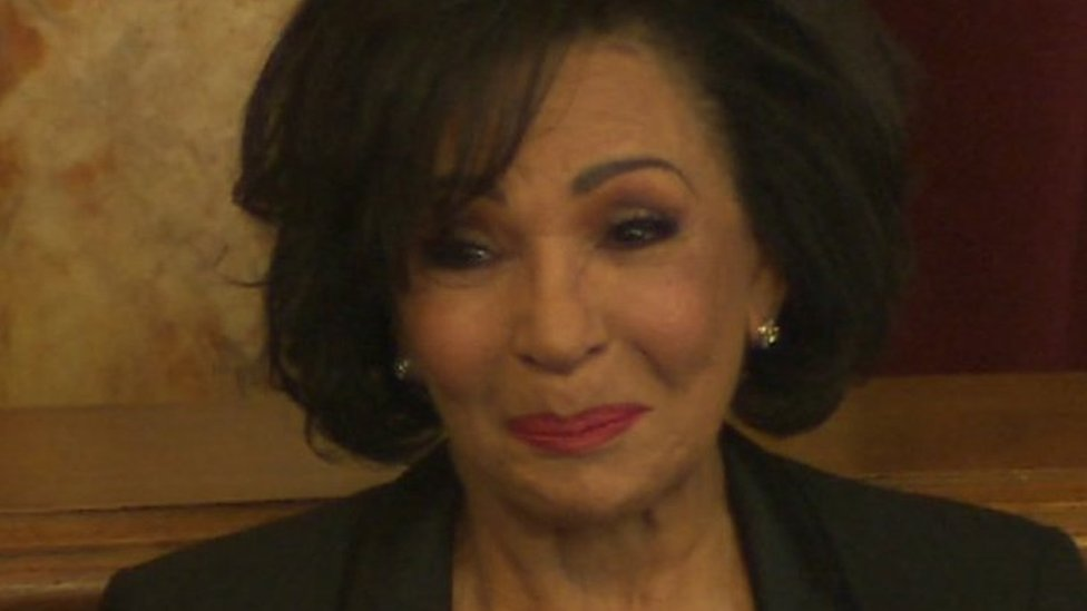 Dame Shirley Bassey gets freedom of home city Cardiff