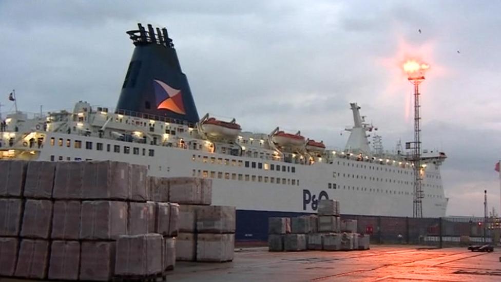 Pride of York ferry