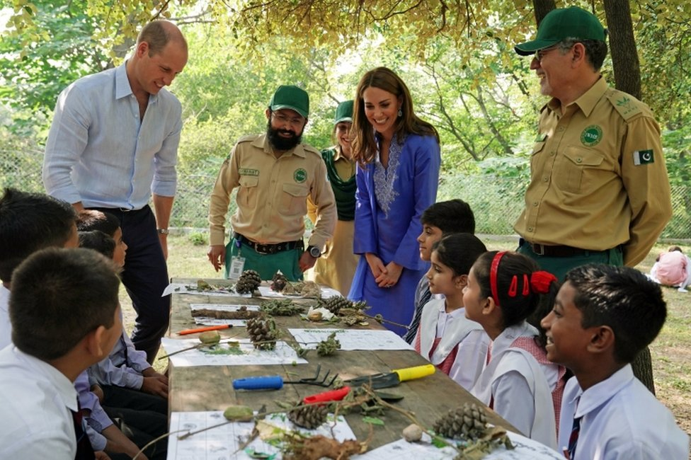 Duke and Duchess of Cambridge in Pakistan