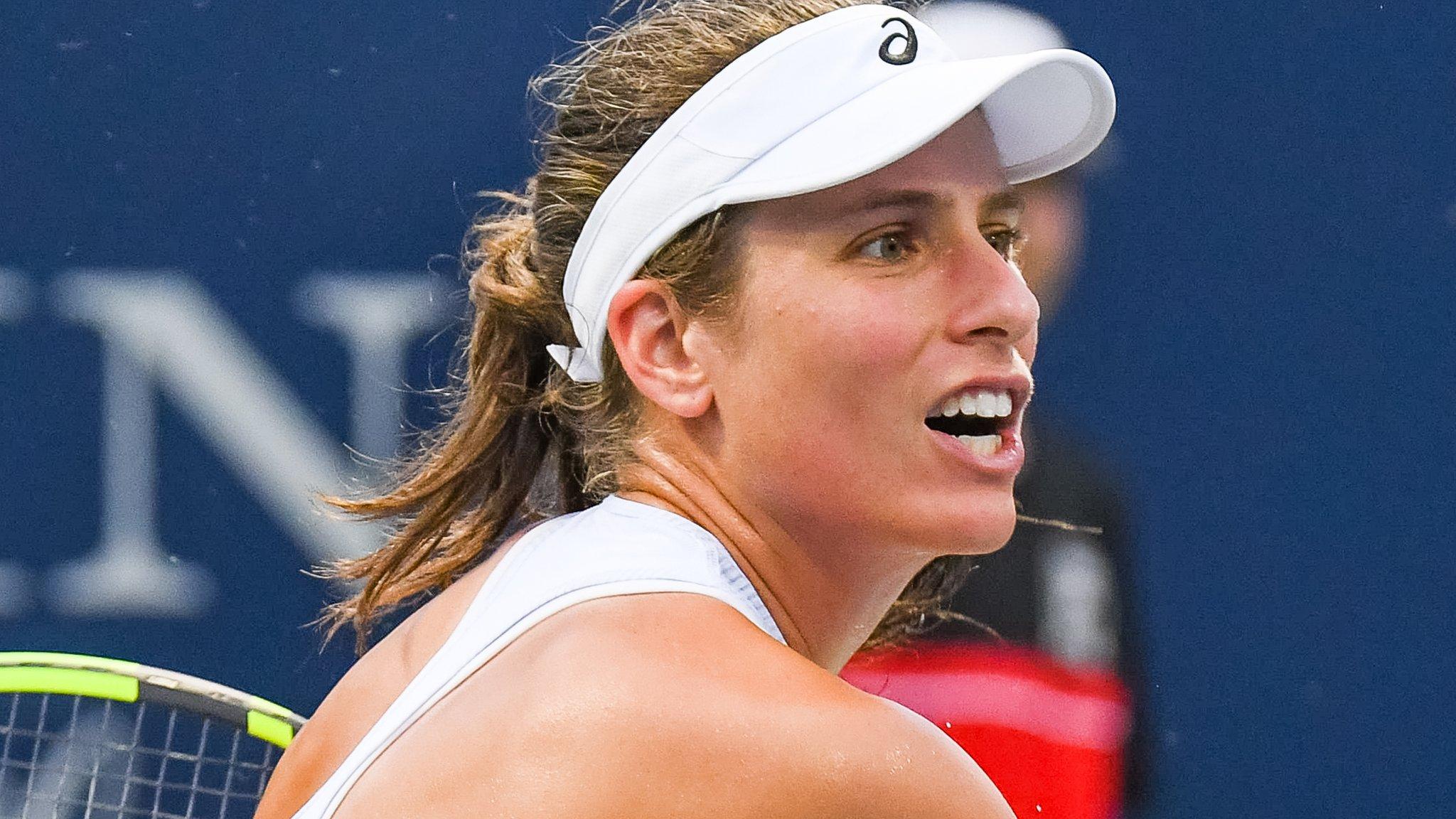 Rogers Cup: Johanna Konta beaten by Elina Svitolina in third round