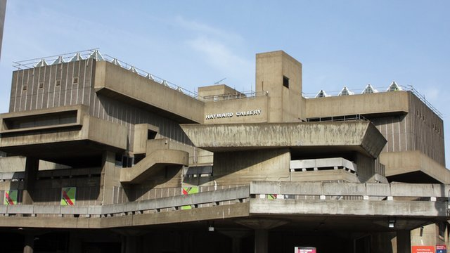 The Hayward Gallery at the Southbank Centre