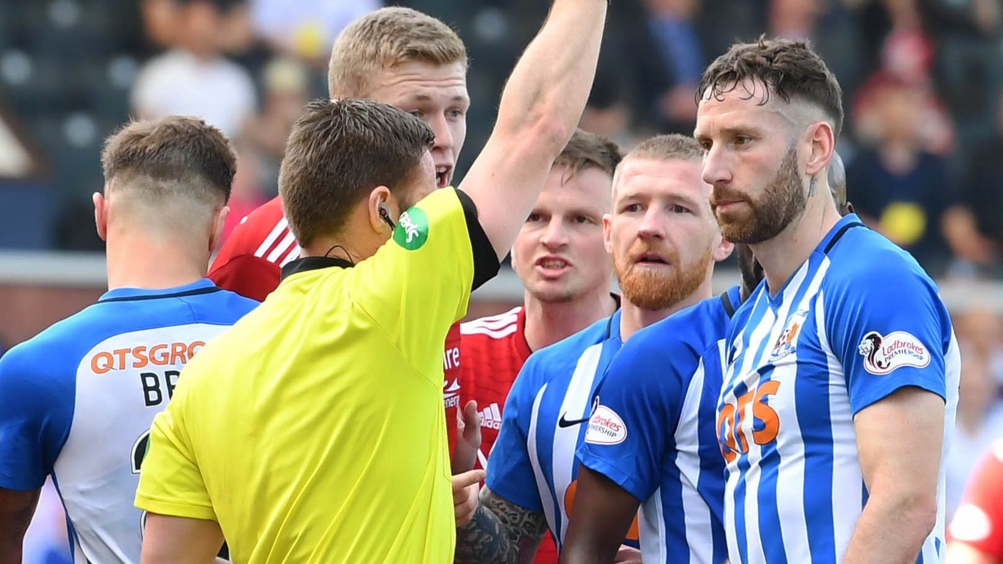 Kilmarnock: Kirk Broadfoot red card appeal fails; Rory McKenzie's downgraded