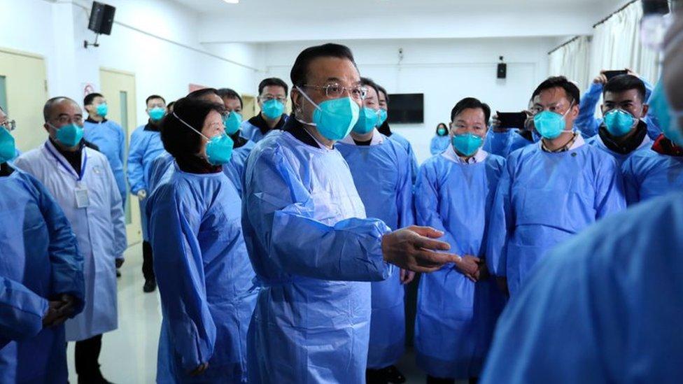 Kineski premijer posetio je Vuhan