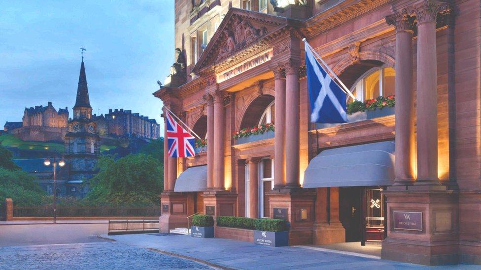 Caledonian Waldorf Astoria Hotel