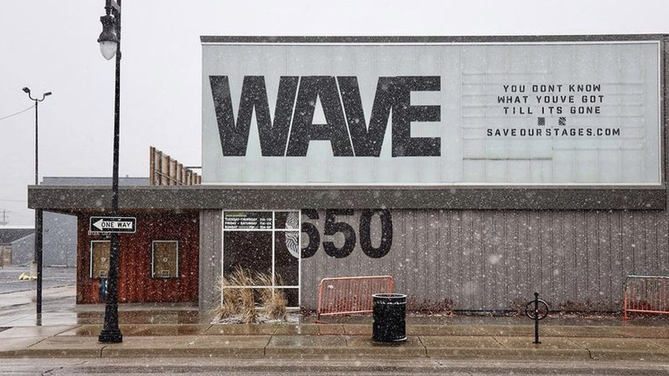 Hartke's Wave, which opened in 2018, has been shuttered since March