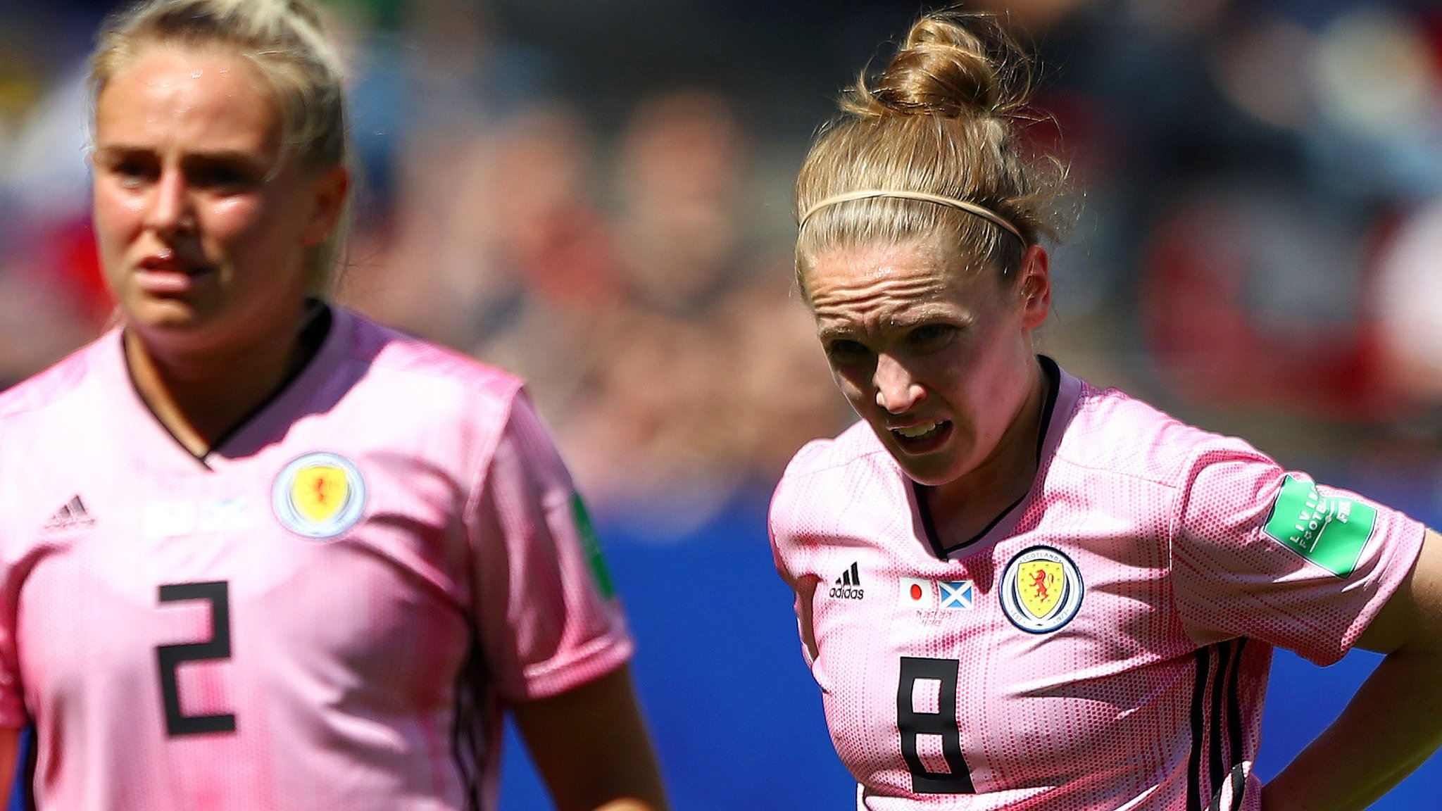 Japan 2-1 Scotland: Experienced players must 'up game' for Scots - Kim Little