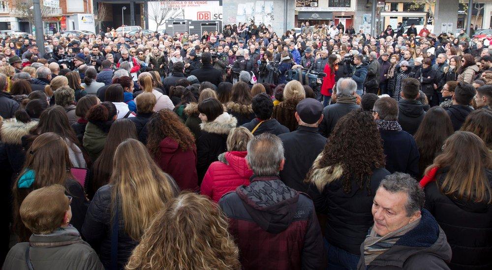 concentración en Zamora.