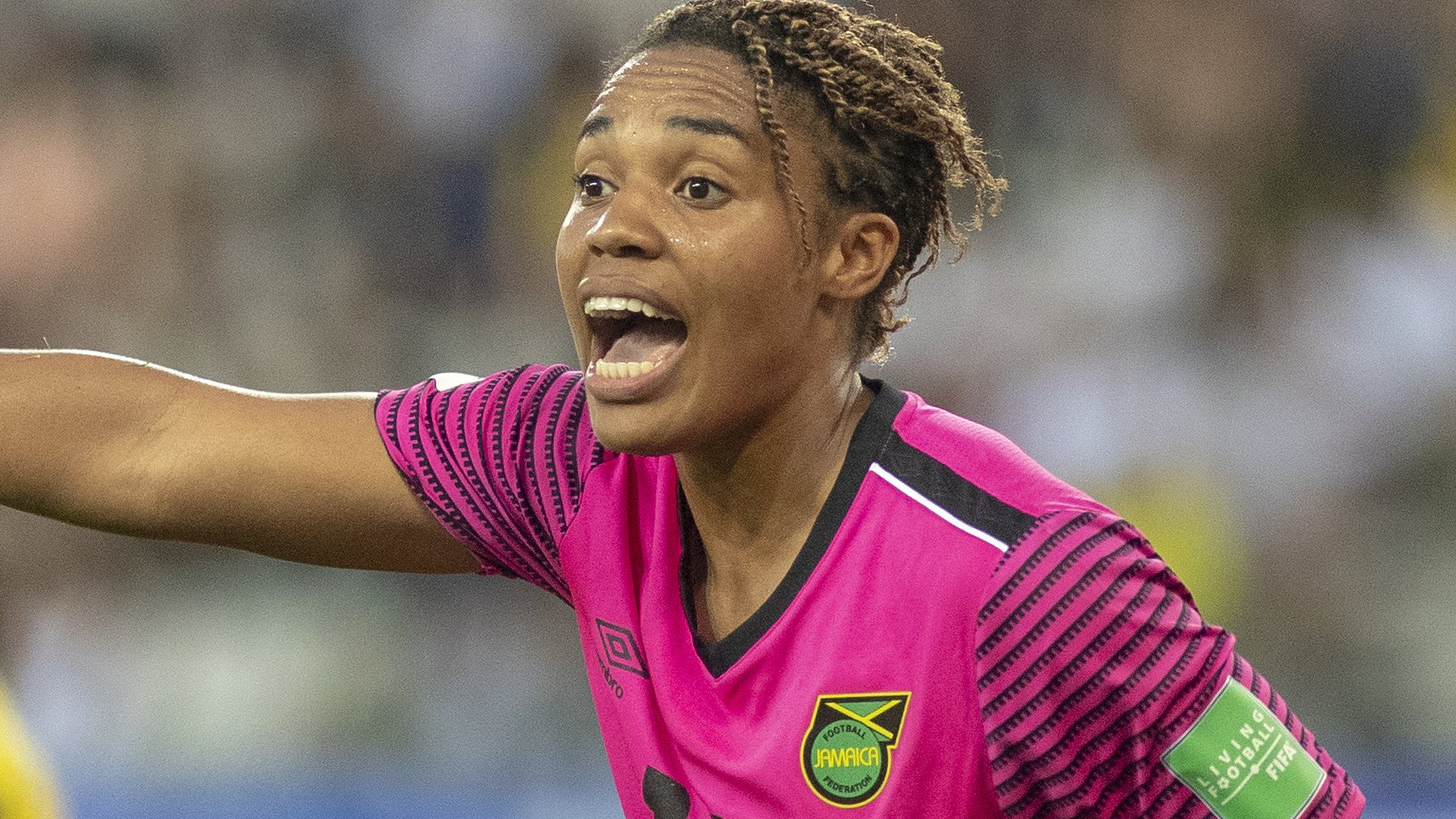 Nicole McClure: Jamaica keeper in club action 24 hours after making World Cup debut