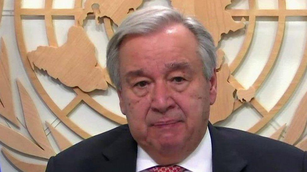 """""""بلا قيود"""" مع أنطونيو غوتيريش الأمين العام لمنظمة الأمم المتحدة"""