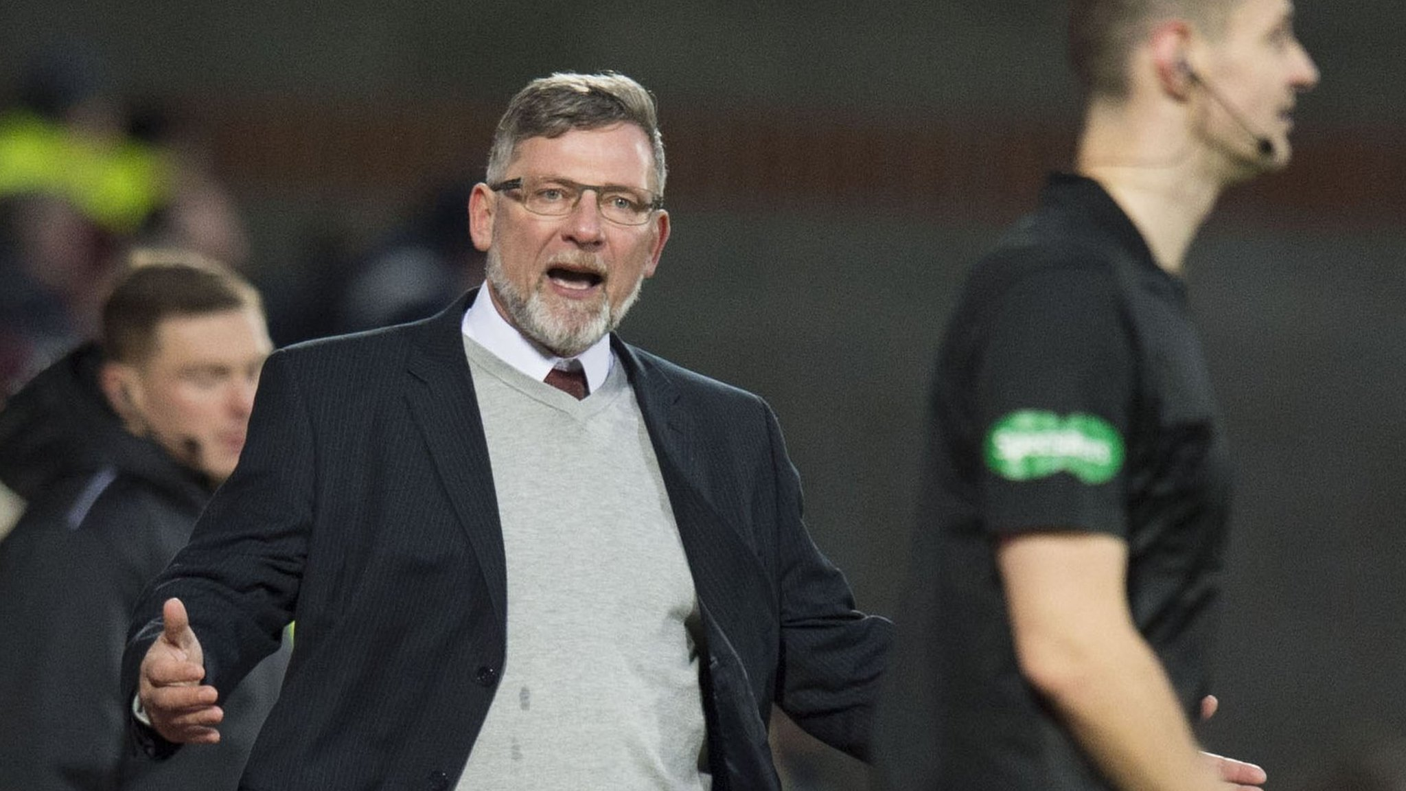 Hearts' Levein faces touchline ban for 'playing 12 men' comments