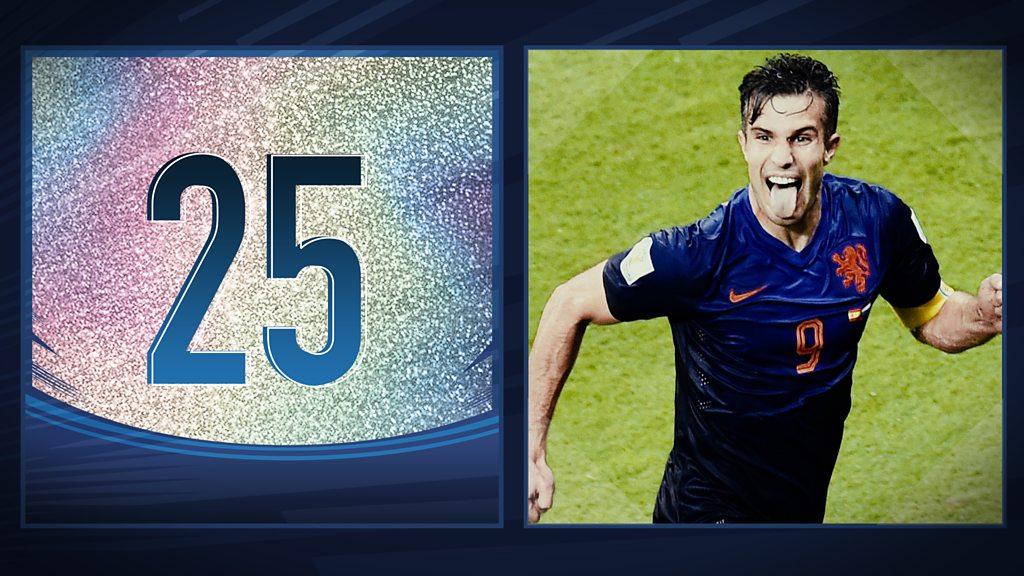 50 Great World Cup moments: Robin van Persie's sumptuous header - 2014