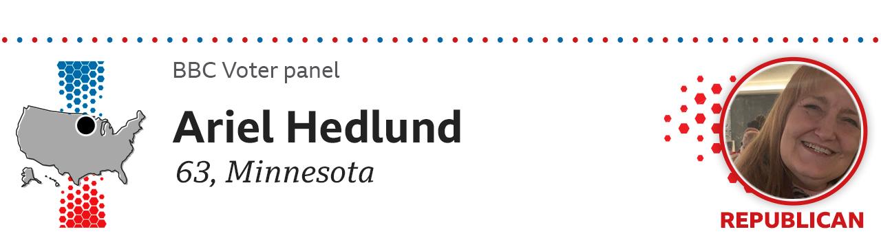 Ariel Hedlund, 63, Minnesota