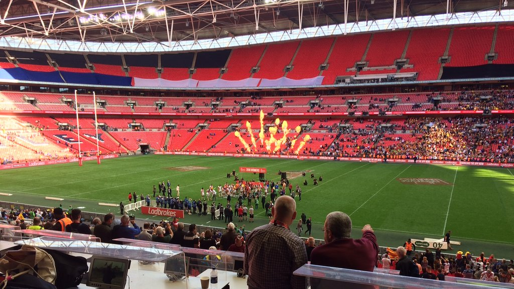 Wembley: Rugby League Challenge Cup final to move from August to July in 2020