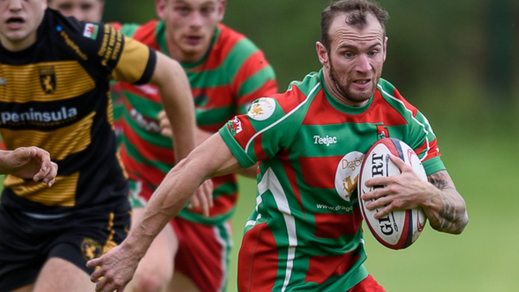 Welsh rugby player suffers serious spinal injury