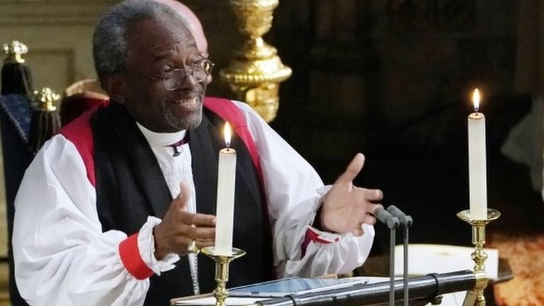 'There's power in love': Bishop Curry's wedding sermon in full