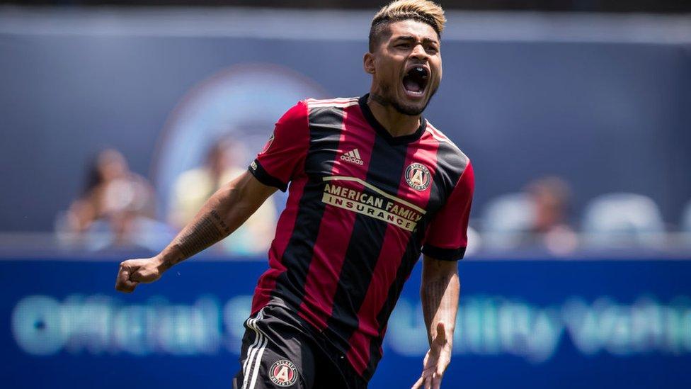 El venezolano Josef Martínez lleva un promedio de un gol por partido desde que llegó al Atlanta United en 2017, sumando 43 goles en total.