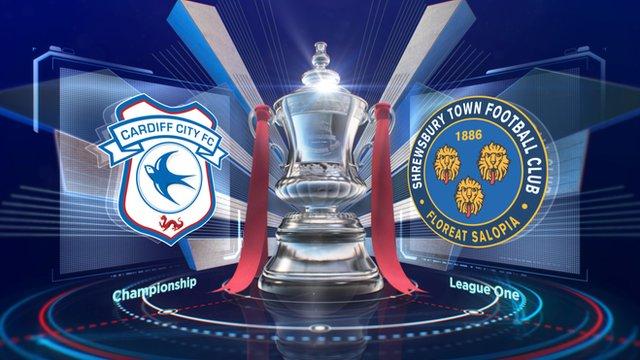 Highlights of Cardiff v Shrewsbury