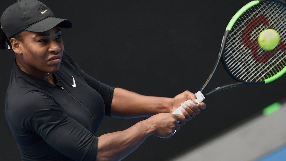 Superwoman Serena