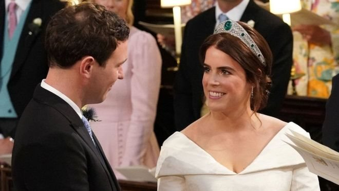 Королівське весілля: принцеса Євгенія вийшла заміж