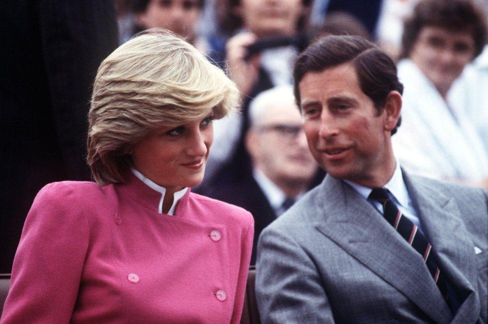 Princ Čarls i princeza Dajana u poseti Kanadi