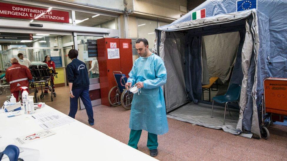 İtalya'daki koronavirüs önlemleri
