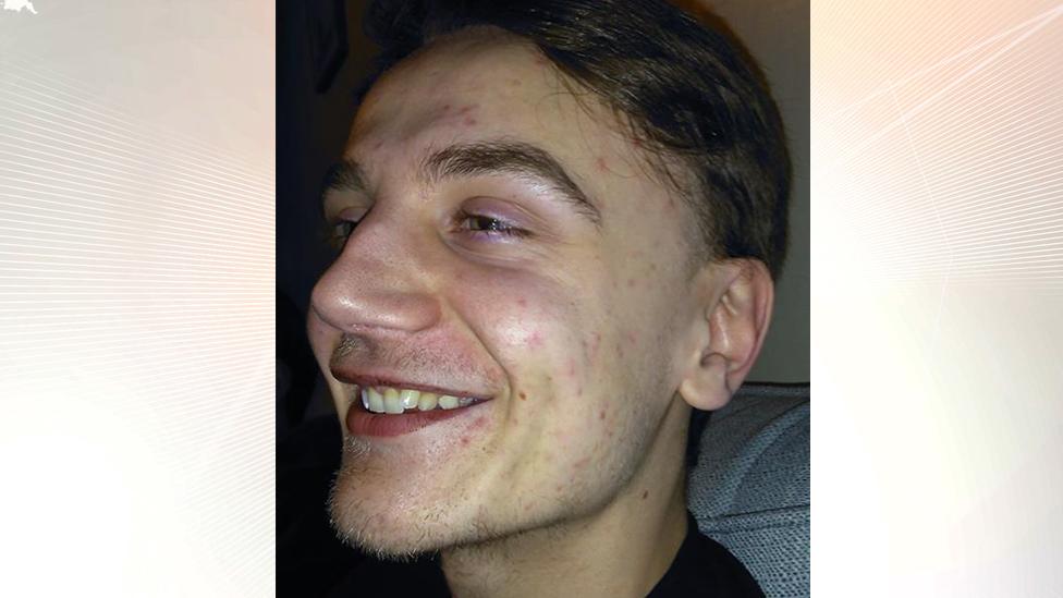 Sam Mechelewski, 20, from Huntingdon