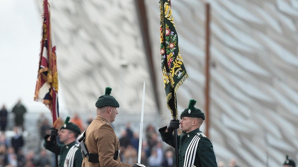 Royal Irish Regiment presented with new Colours by Prince Andrew