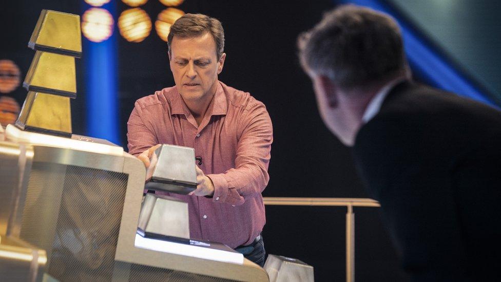 A contestant on Gordon Ramsay's Bank Balance