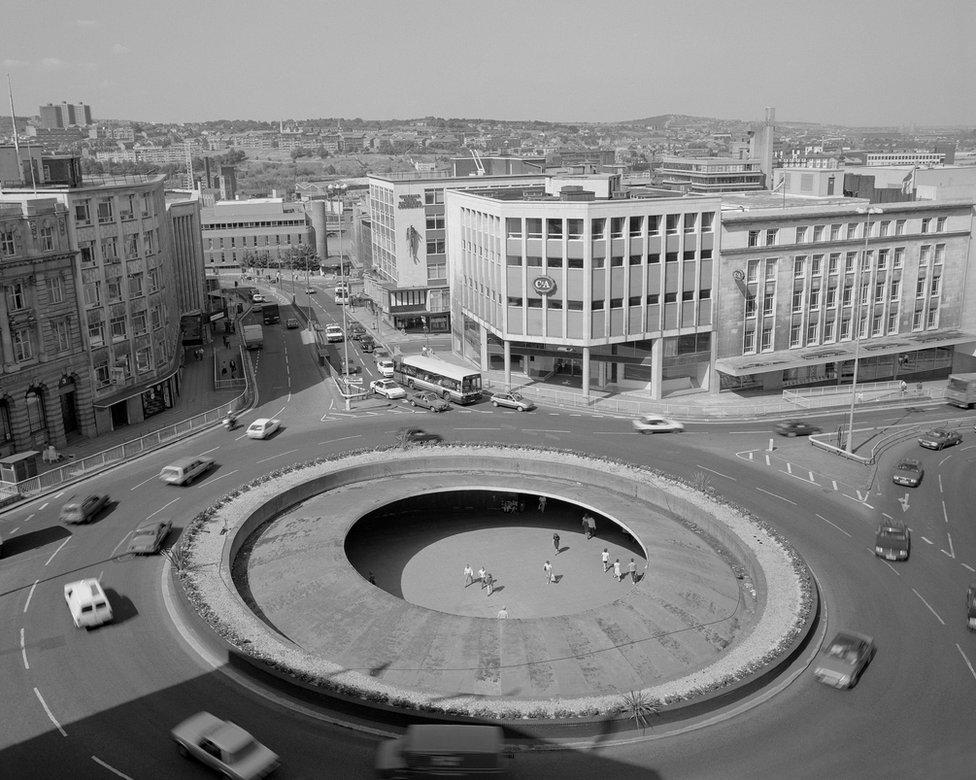 Castle Square, Sheffield, 1989