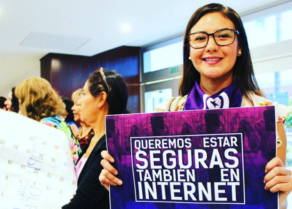 Queremos estar seguras también en internet.