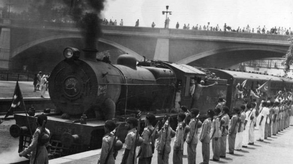 اضطر ملايين الأشخاص إلى مغادرة منازلهم عندما حدث تقسيم الهند في عام 1947