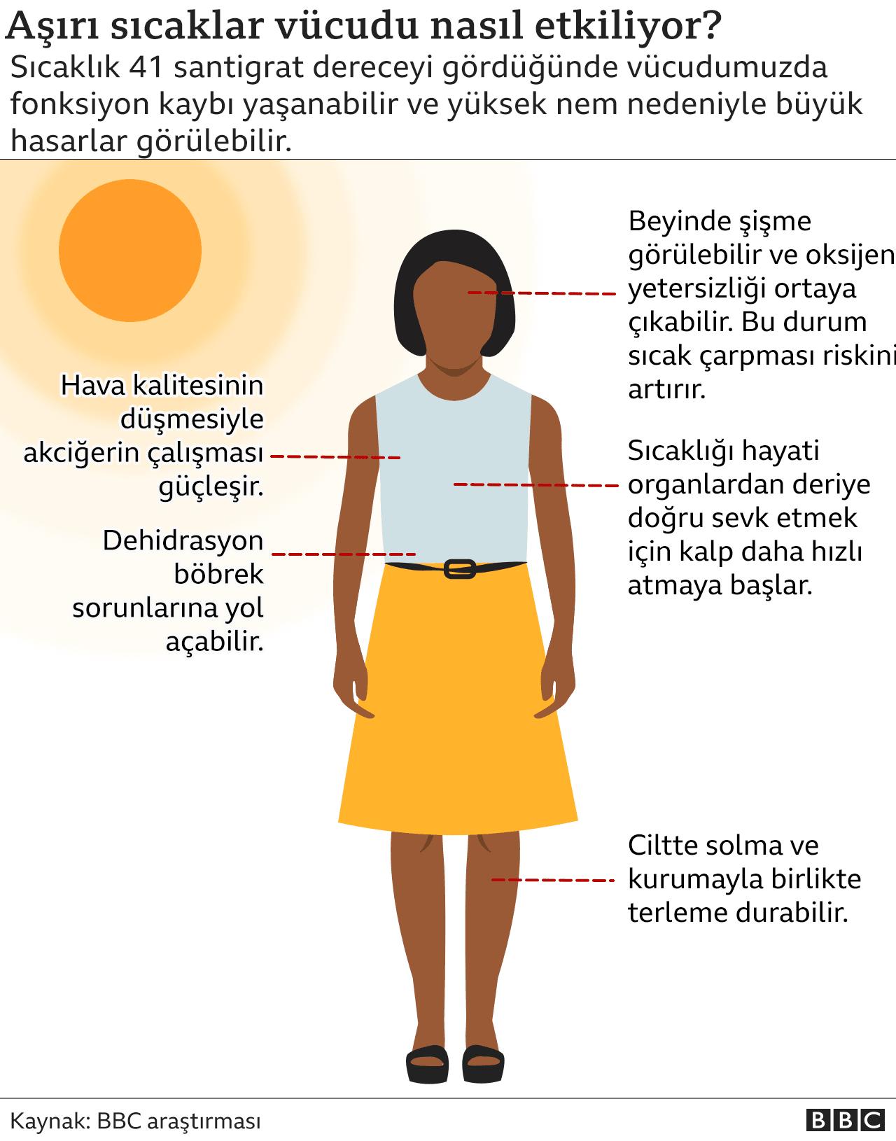 Aşırı sıcaklar vücudu nasıl etkiliyor?