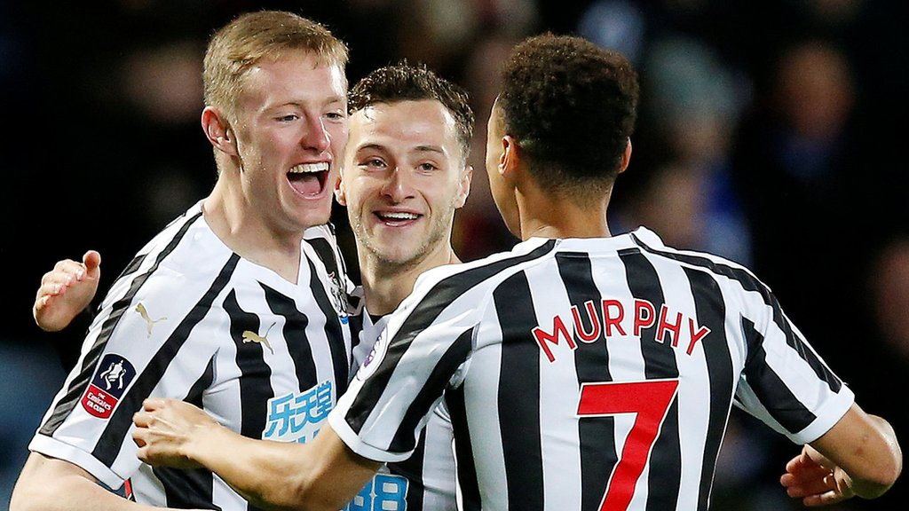Newcastle beat Blackburn after two extra-time goals - highlights & report